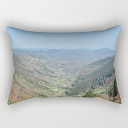 French view in the valley Rectangular Pillow