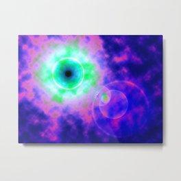 Space Eye Metal Print