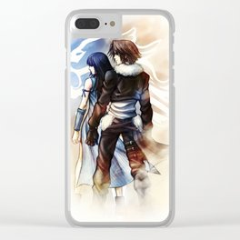 Squall and Rinoa - Griever Clear iPhone Case