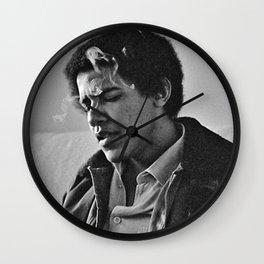 obama smoke Wall Clock