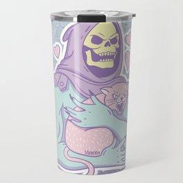 Skeletor's Cat Travel Mug