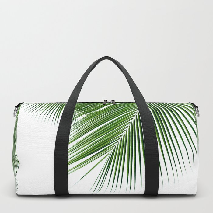 Delicate palms Duffle Bag