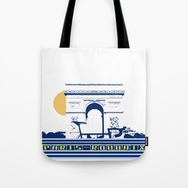 Paris - Roubaix Tote Bag
