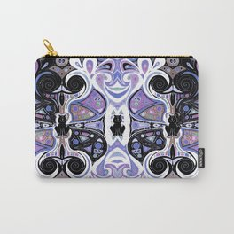 Symmetrical Cat (180i) Carry-All Pouch