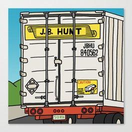 J.B. Hunt Canvas Print