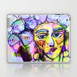 She kept it all to herself Laptop & iPad Skin