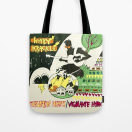 Suburban Hearts/Vigilante Hymns Album Art Tote Bag