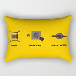 Monuments Rectangular Pillow