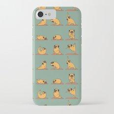 Pug Yoga iPhone 7 Slim Case