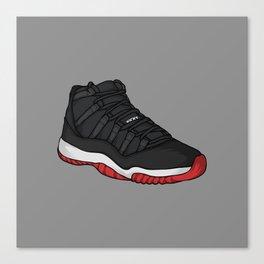 Jordan11-Breds Canvas Print