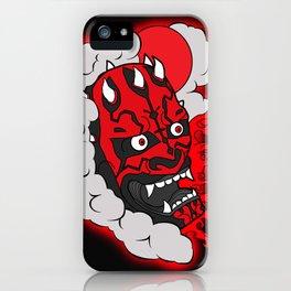 Darth Maul iPhone Case