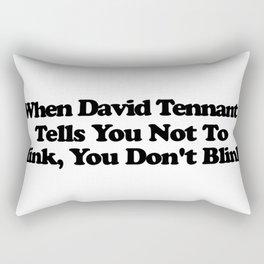 When David Tennant Rectangular Pillow