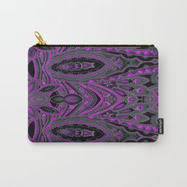 Paisley 7 Purple Carry-All Pouch
