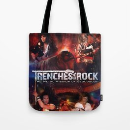 Trenches of Rock: Official Movie Poster / Art / Mugs / Phone Cases, etc. Tote Bag