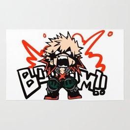 Katsuki Bakugo Booom My Hero Academia Rug