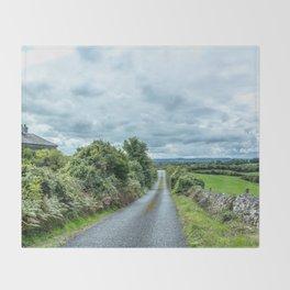 The Rising Road, Ireland Throw Blanket
