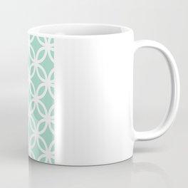 Mint Geometric Circles Coffee Mug