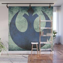 Rebel Grunge Emblem   Star War Art Wall Mural