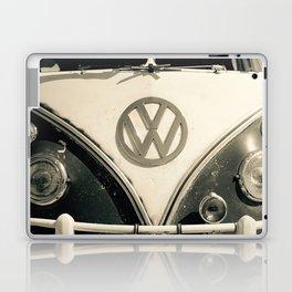 Classic Hipster Van, Photo, Black and White Laptop & iPad Skin