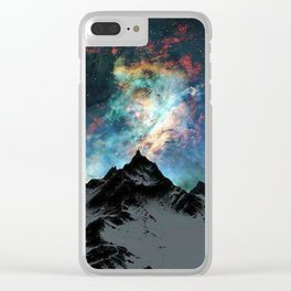 NORTHERN LIGHT ALASKA Clear iPhone Case