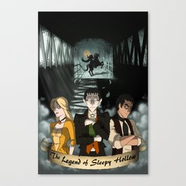 Poster: The Legend of Sleepy Hollow Canvas Print