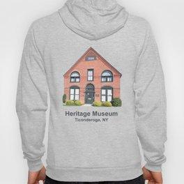 Ticonderoga Heritage Museum (front) Hoody