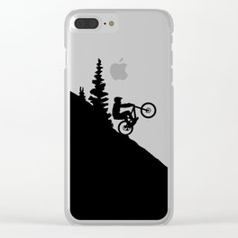MTB 2tone Clear iPhone Case