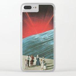 Ho-Hum Phenomena Clear iPhone Case