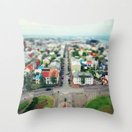 Reykjavik, Iceland Throw Pillow