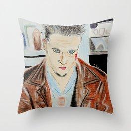 Brad Pitt-Tyler Durden Throw Pillow