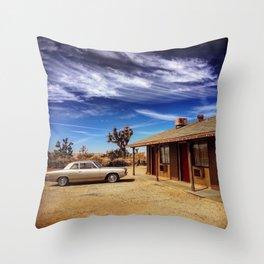 Vintage Getaway Throw Pillow
