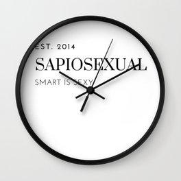 SapioSexual Wall Clock