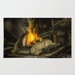 Hot working Rug