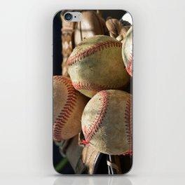 Baseballs and Glove iPhone Skin