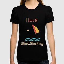I Love Windsurfing Gift Idea T-shirt
