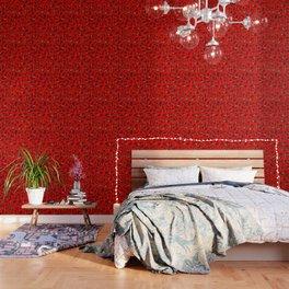 Heartstrings Red Wallpaper