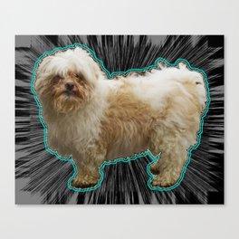 The Fuzz Canvas Print