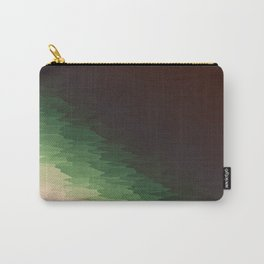 Forest Texture Ombre Carry-All Pouch