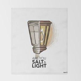 #2 Salt and Light Throw Blanket