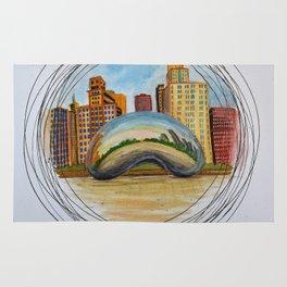 Cloud Gate, Chicago Rug