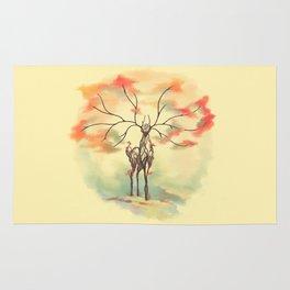 Essence of Nature - A Deer's Echo Rug