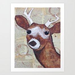 I LOVE YOU, DEERLY. Art Print