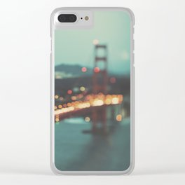 San Francisco Golden Gate Bridge, Sweet Light Clear iPhone Case