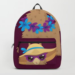 Bahama Llama Backpack