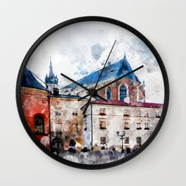 Cracow art 21 #cracow #krakow #city Wall Clock