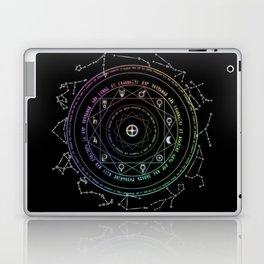 Astrological Magic Circle Laptop & iPad Skin