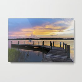 September Sunset Metal Print