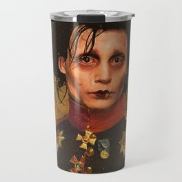 Edward Scissor Hands General Portrait Travel Mug