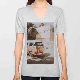 summer van / road trip Unisex V-Neck
