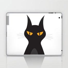 Halloween Vampire Cat Portrait Laptop & iPad Skin